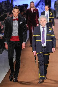 Funky Menswear. Etro - Fall 2014-Winter 2015