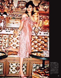 Chiharu Okunugi by Ellen von Unwerth for Vogue Japan July 2014
