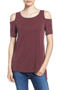 Ten Sixty Sherman Cold Shoulder Tee available at #Nordstrom