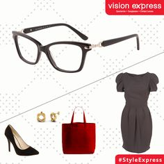 Stand out in a crowd in these rectangle full frame spectacles to beat those Monday blues.   Model - VX GV Sensaya SEN29.50
