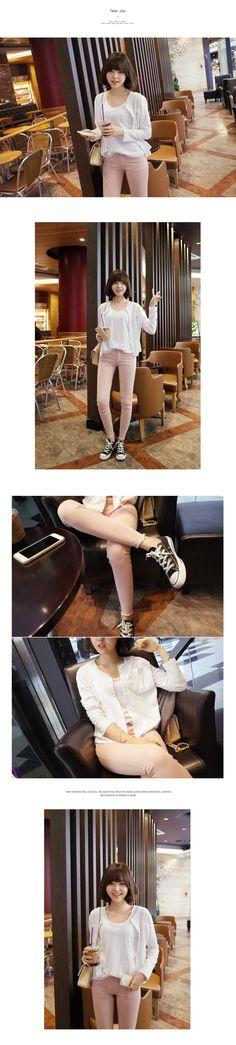 5050 コットンスキニーパンツ・全8色パンツ・ズボンパンツ・ズボン|レディースファッション通販 DHOLICディーホリック [ファストファッション 水着 ワンピース]