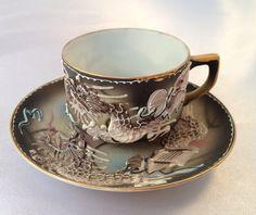Vintage Princess Occupied Japan Dragonware by TheCatzPajamas, $13.95