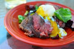 Grilled #SousVide Filet Mignon with Sous Vide Egg and Fresh Herb Salad by Dad Cooks Dinner