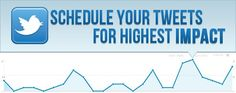 Scheduling Your Tweets For The Highest Possible Impact