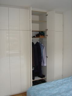 glossy wardrobe