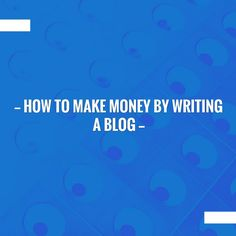 Kickstart your day with a good read!⚡️How To Make Money By Writing A Blog https://how-to-earn-extra-money-from-home.com/how-to-make-money-by-writing-a-blog?utm_campaign=crowdfire&utm_content=crowdfire&utm_medium=social&utm_source=pinterest