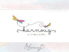 Custom Premade Photography Boutique Logo Design by karnoug on Etsy