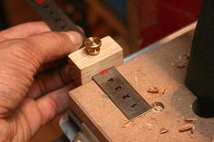 Ruler stop (nice and cheap) - by mafe @ LumberJocks.com ~ woodworking community