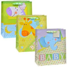Voila Baby-Themed Zoo Friends Gift Bag