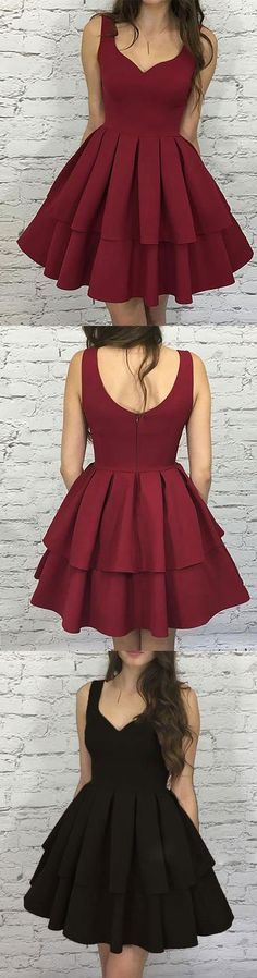 : Satin Homecoming/Cocktail Dress Satin Homecoming/Cocktail Dress A Line Short Satin Homecoming Dresses Lace Up 2016 Homecoming Dress Copy of Hot Sale Suitable Short Prom Dress. Burgundy Homecoming Dresses Short, 2016 Homecoming Dresses, Short Prom, Prom Dresses, Graduation Dress College, Short Graduation Dresses, College Fun, Graduation Ideas, Trendy Dresses