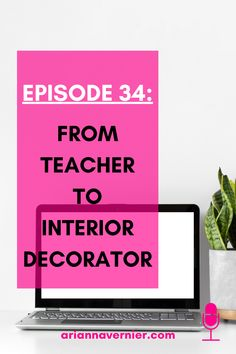 Becoming a work at home mom doesn't just have to be a dream. You can quit teaching for good and get started making money from home TODAY. On this episode of the Ditch the Classroom podcast, I'm sharing how one mom was able to leave teaching and replace her teaching income as an interior decorator. If you're ready to ditch the classroom for good, spend more time with your kids, and become a freelancer and/or virtual assistant while working from home, then this is for you. Start A Business From Home, Work From Home Tips, Make Money From Home, Make Money Online, How To Make Money, How To Become, Second Grade Teacher, Virtual Assistant Services, Successful Online Businesses