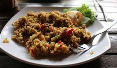 Deze verrukkelijke rijstschotel met gehakt is ideaal voor doordeweekse avonden!