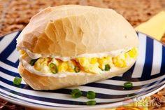 Receita de Sanduíche de ovo frito em receitas de paes e lanches, veja essa e outras receitas aqui!