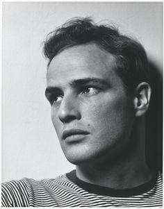 Philippe Halsman. 'Marlon Brando' 1950 (printed later)