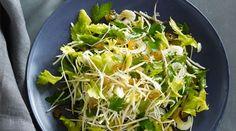 Celery Root, Celery Heart and Celery Leaf Salad