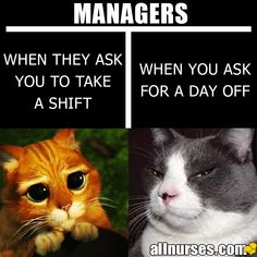 The two sides of every manager...