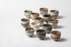 13 pinched bowls by woodfirer on Flickr.