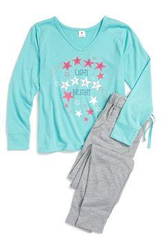 Tucker + Tate Two Piece Pajamas (Little Girls & Big Girls) | Nordstrom