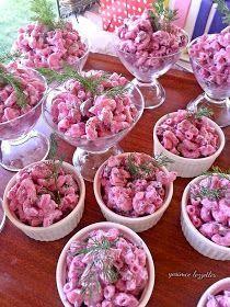 Yeşim'ce Lezzetler: Pembe Makarna Salatası