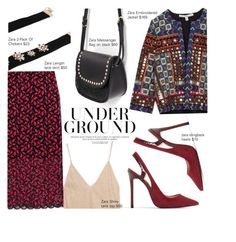 """""""Looking Expensive with Zara"""" by nindi-wijaya ❤ liked on Polyvore featuring Zara"""