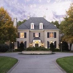 Stucco French Country Brick Design, Pictures, Remodel, Decor and Ideas