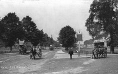 The village is pleasantly situated on the southern bank of the Thames Richmond London, Richmond Upon Thames, Kew Gardens, Botanical Gardens, Village Photos, Surrey, Old Photos, Roads, Photographs