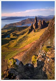 Old Man of Storr, Western Isles, Scotland Copyright: Stephen Emerson