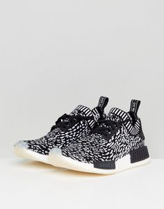 a9ed099ce2507 adidas Originals NMD R1 Primeknit Sneakers In Black BY3013 - Black Nmd R1