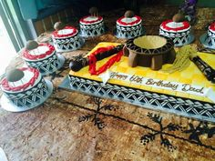 Samoan birthday cakes