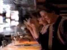 Ha!  I love late 80's (early 90's) ads.  Visa commercial - Fog City Diner (San Francisco) - 1990 - YouTube