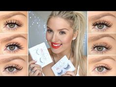 Here I try on every style of xoBeauty fake lashes! I hope this helps you all out :) xo - Drugstore Makeup Tutorial