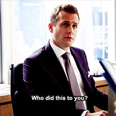 Another example of how much Harvey cares about Mike. GIF love #Suits