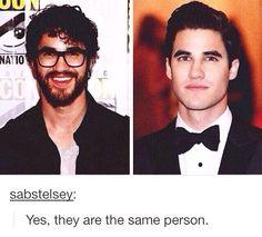 Darren Criss. Hahaha