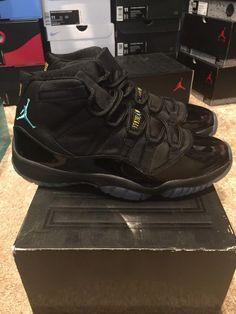 5cea7ca7a4a848 Nike Air Jordan Retro XI 11 Gamma Black Blue sz 11 DS Lot