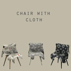 Cloth Chair at Leo Sims • Sims 4 Updates