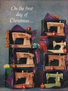 Vintage sewing machines ❤                                                                                                                                                      More