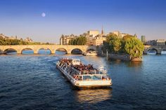 Did You Know? In case you are short on time in Paris, a good way of seeing the sights is to take a cruise on the Seine as almost all the main sights are on the banks of the river. #travelwithdiane #travelagentsknow