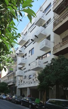 Urban Stripes building in  by Klab Architects in Athens, GREECE