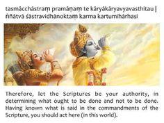 GITA JAYANTI(13-12-2013)Bhagavad Gita*Chapter 16*Verse 24