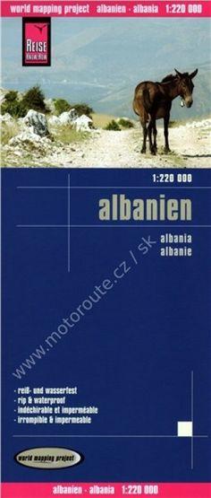 Albánie - mapa Reise Know-How | myenduro.cz