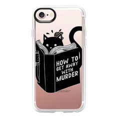 How to get away with murder - iPhone 7 Case And Cover ($40) ❤ liked on Polyvore featuring accessories, tech accessories, iphone case, apple iphone case, clear iphone case, iphone cases and iphone cover case