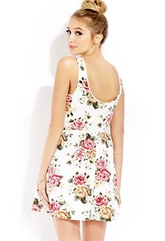 Floral Frenzy Skater Dress | FOREVER21 - 2000126930