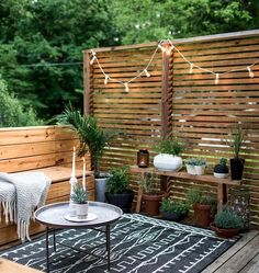 Patio Decorating Ideas Small Patio Nathanchoiforjudge Backyard 10 Beautiful Patios And Outdoor Spaces Home Small Outdoor Spaces, Outdoor Rooms, Small Terrace, Outdoor Patio Rugs, Outdoor Balcony, Outdoor Kitchens, Outdoor Plant Table, Small Deck Space, Small Living Spaces