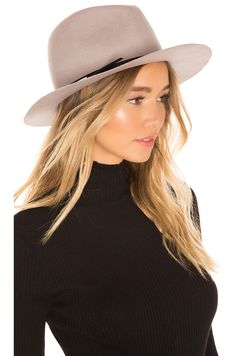 Hat Attack Bella Felt Hat in Beige   Black   Silver Bars 4f5f76adfcc0