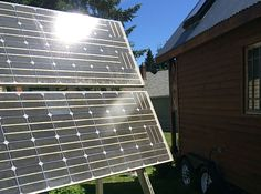 How to Power Your Tiny House With Solar Power  Wondering how to power your house with solar power? It won't be a hard fix if you contact an experts or give us a call. I have helped some friends sort their electricity concerns over the last few years and helping you won't be any problem.