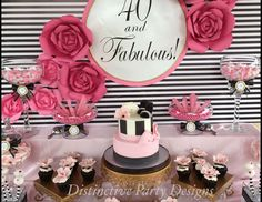 "Fashion / Birthday """"40 and Fabulous"""" 