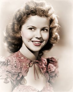 Shirley Temple recolour by janet Kamps