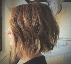 21 Textured Choppy Bob Hairstyles: Short, Shoulder Length Hair
