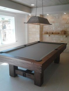 The Brunswick Isabella Pool Table With Blue Lapis Stone Finish - Stone pool table