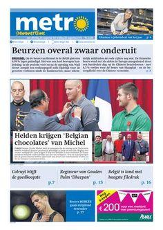 Metro | Website van de gratis krant Metro